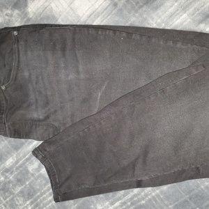 Maurice's black skinny jeans